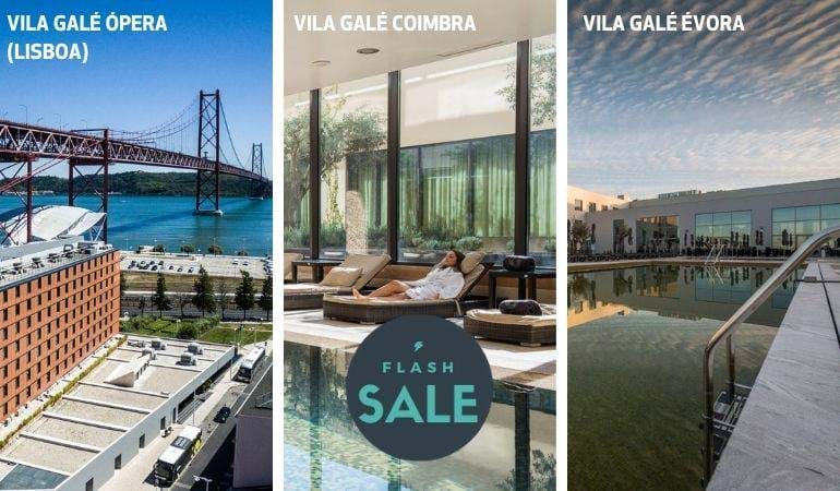 VILA GALÉ COIMBRA, ÓPERA (LISBON) AND ÉVORA - from 39,5 € per person